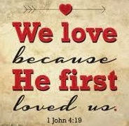 We love because God loves